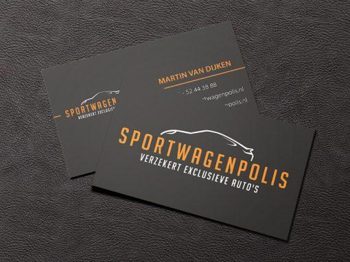 Sportwagenpolis Huisstijl en drukwerk
